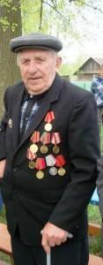 Ветеран Великой Отечественной войны Чернобай Ефим Фёдорович