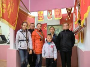 В музее Мишковской школы